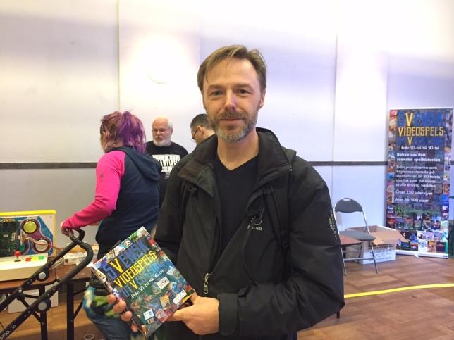 Dagen efter hade boken premiär på mässan Retro Games, där dök bl.a. Erik Isaksson upp som ligger bakom ABC 80-emulatorn ABCWin som varit oumbärlig för bokens skapande.