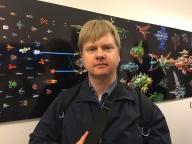 Karl Hörnell har utvecklat åtskilliga C64-spel som Cleanup Time, Fungus och Toadforce för att nämna några. Han skapar fortfarande spel och är aktuell på Cross Boss samt Inbread som båda kan spelas på iOS.