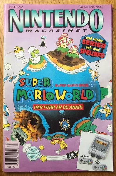 Super Nintendo hajpades rejält i Nintendomagasinet.