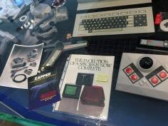 Utställning med NES-prototyper