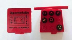 Luffarschacket med Game & Watch-motiv på omslaget.