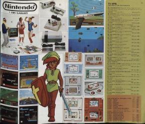 Leksaksmagasinet lutade sig mer mot NES i sin katalog 1989, men Game & Watch syntes fortfarande prominent.