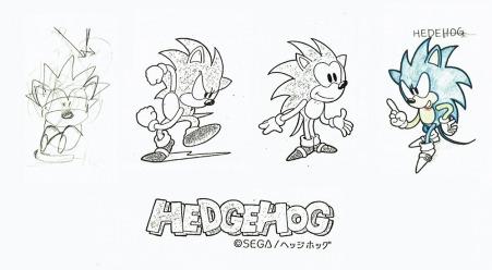 Sonic börjar ta form.