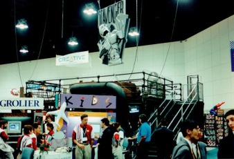 Montern på E3 1995.
